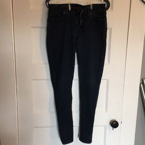 Size 11 dark denim jeans juniors